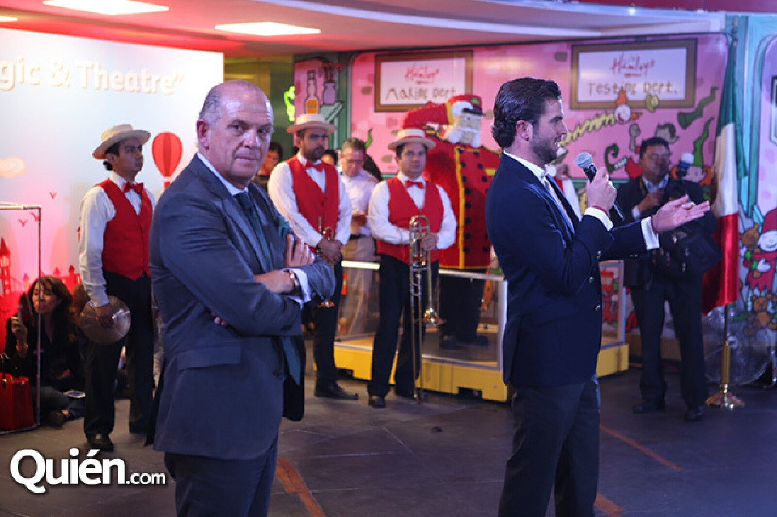 Javier Sordo Madaleno y José Juan Sordo