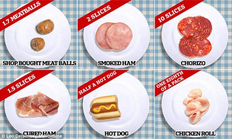 Tras el informe de la OMS que habla sobre el efecto cancerígeno de las carnes procesadas si se consume más de 50 gramos diarios, un medio investigó cuánto significa esto para cada tipo de carne.