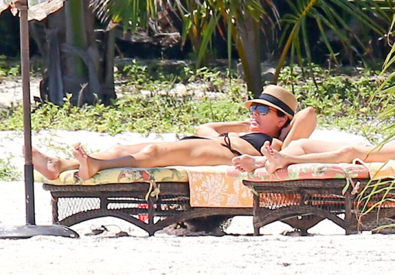 Con una ajetreada vida, Kris Jenner parece estar disfrutando de sus vacaciones en México.
