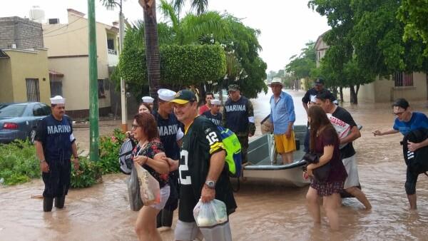 Sinaloa inundaciones