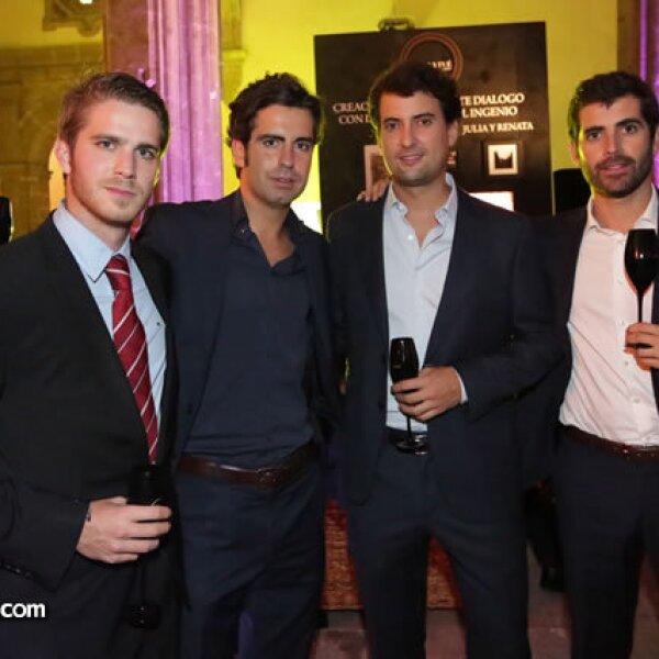 Marc Alins, Marc Ezque, Enrique Sotomayor y Arturo Peris