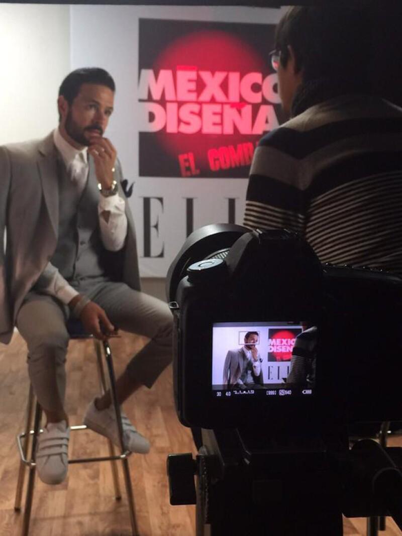 Chema Torre, junto a su hermano Juanchi, es un fiel impulsor de la moda mexicana.