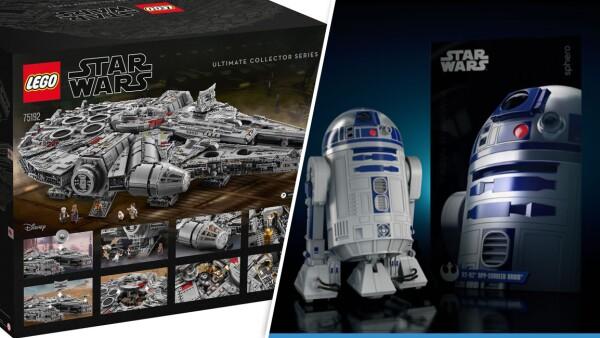 Nuevos juguetes de Star Wars.