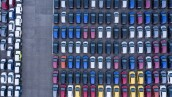 Aerial View of parking