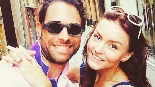 La actriz celebró el cumpleaños 41 de su novio con un romántico video en el que agradece que sea parte de su vida.