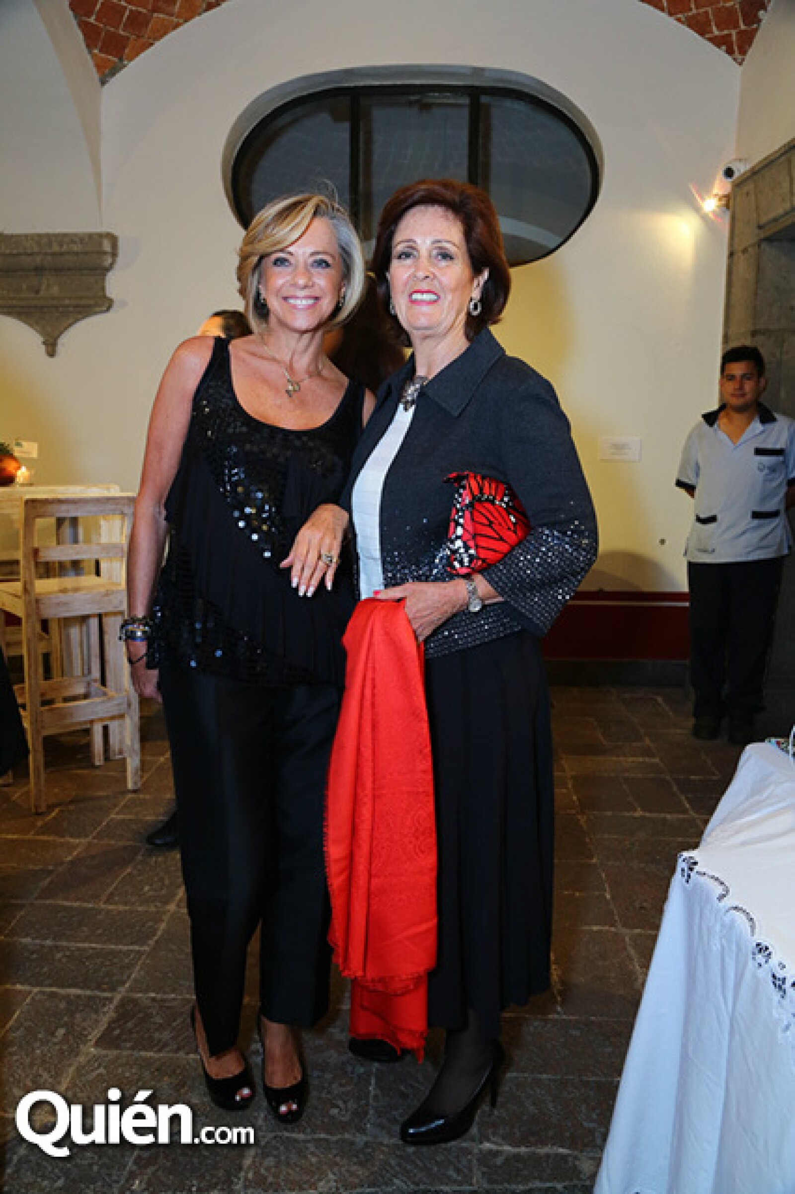 Emilia Gil y Magdalena López Morton