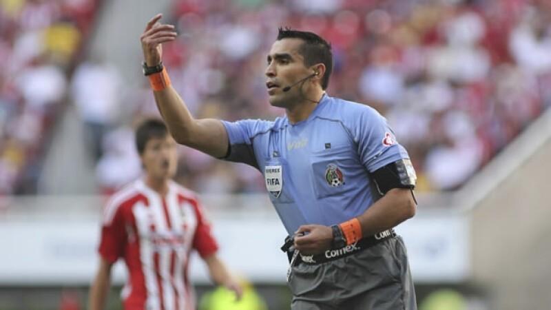 Marco Antonio Rodríguez arbitro Archivo