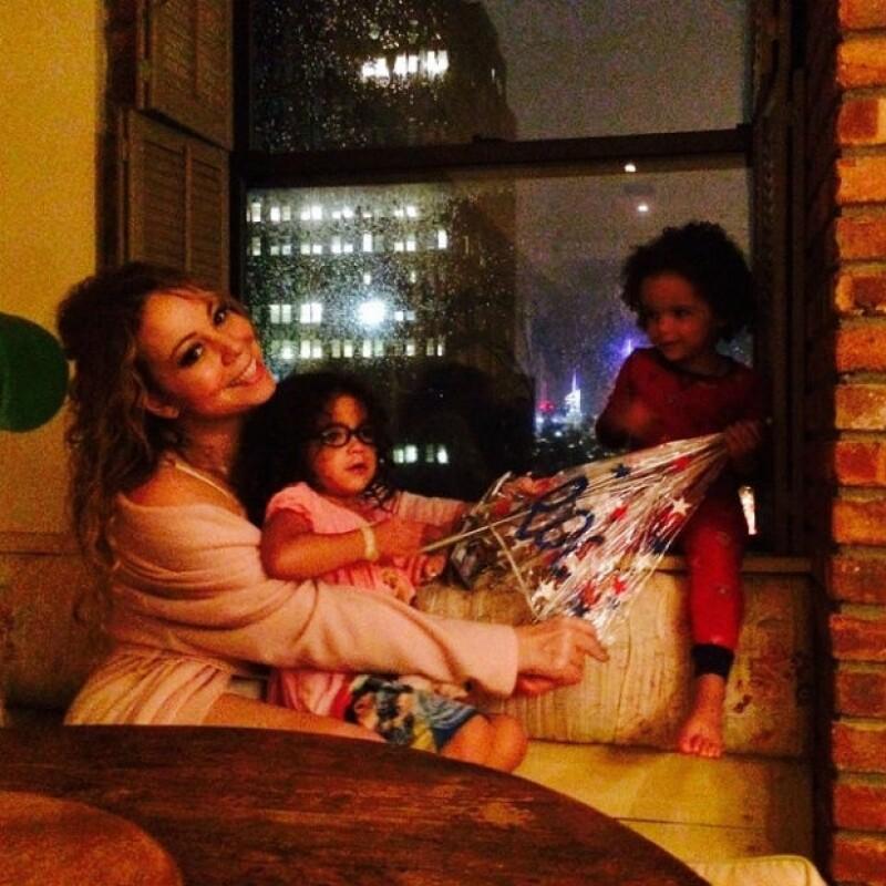 Mariah ha estado a cargo de los gemelos desde su separación.