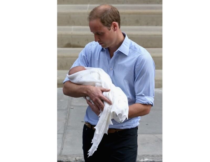 El recién padre quiere que el pequeño George sepa el papel que jugó Diana en la vida de su papá.