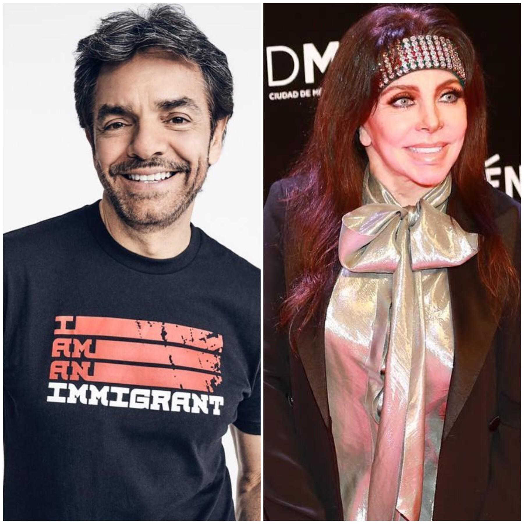 Eugenio Derbez y Verónica Castro