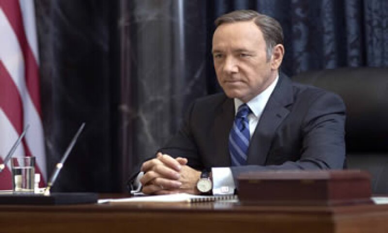 Kevin Spacey interpreta a Frank Underwood. (Foto: AFP )