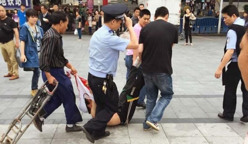 Guangzhou policía China