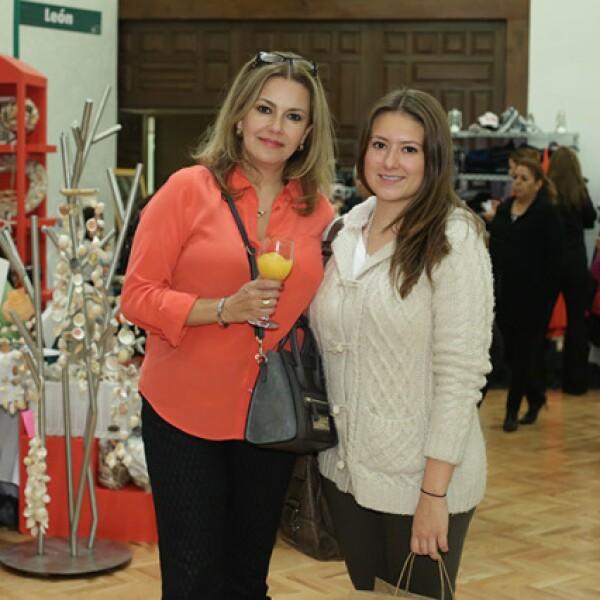 Luisa González y Regina O`Farrill