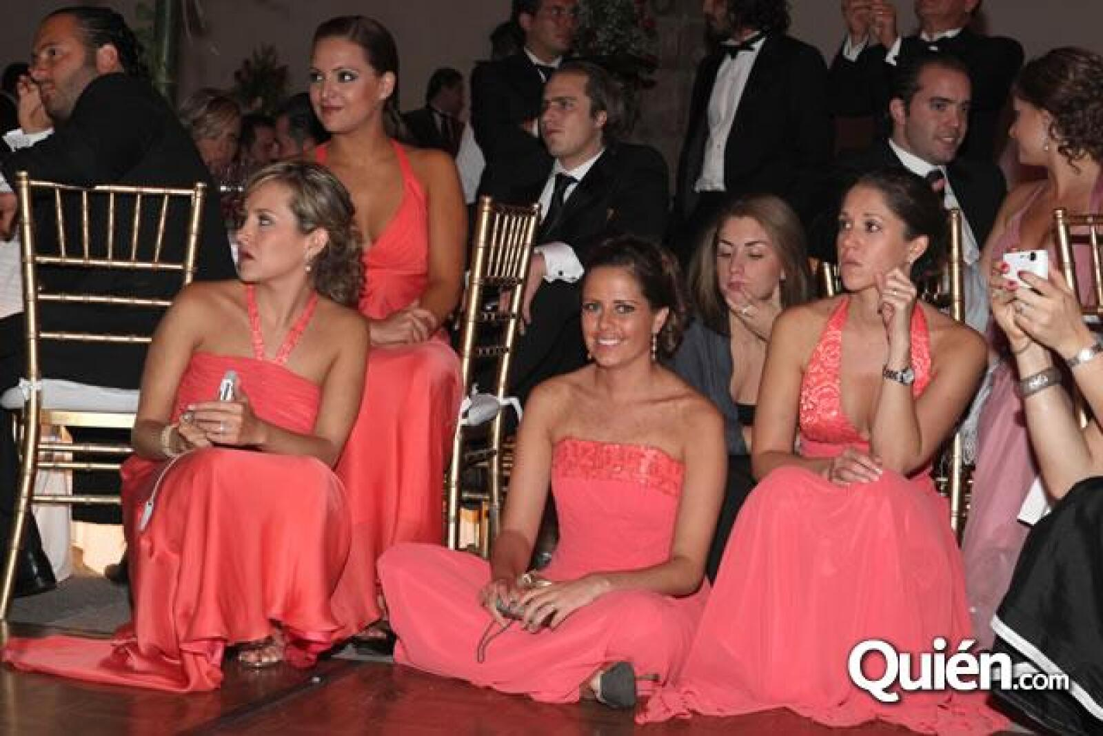 Adriana Carranza,Pamela Ortiz,Jessica Huerta,Adriana del Conde