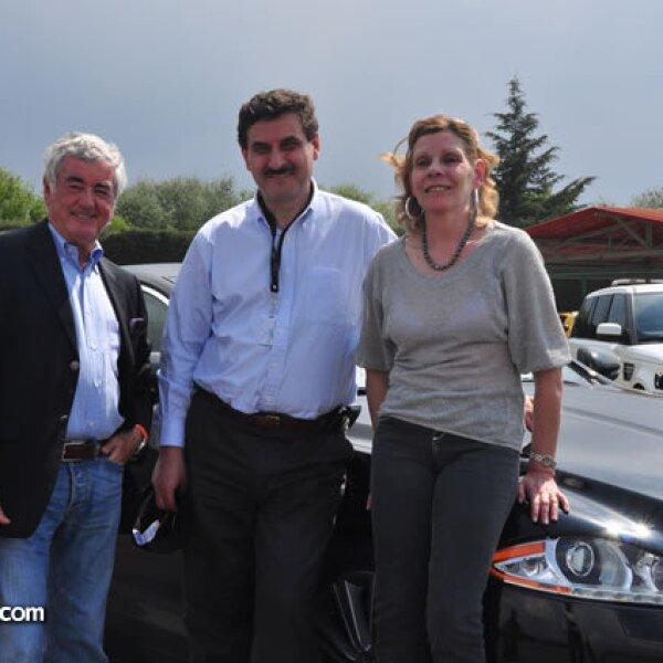 Joss Ifergan, Joseph A. ChamaSrour y Chantal ChamaSrour