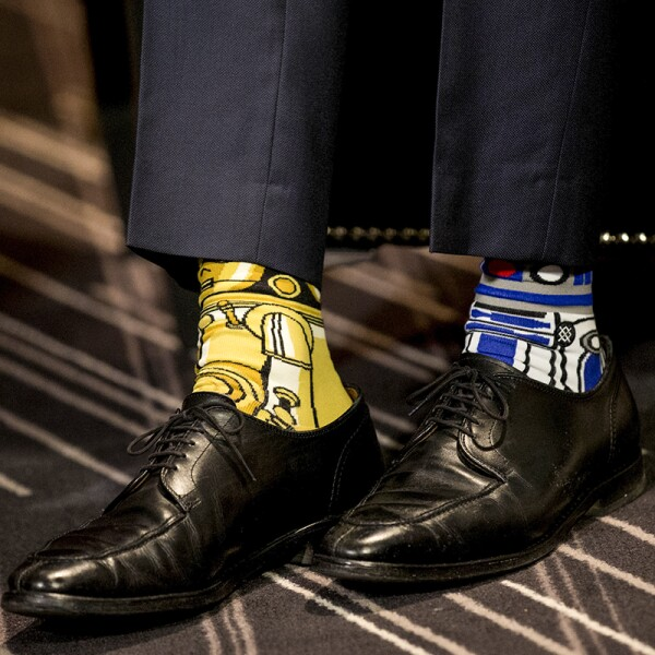 Las calcetas de Trudeau