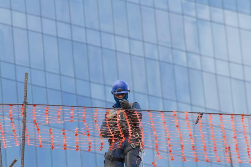 construcción trabajador