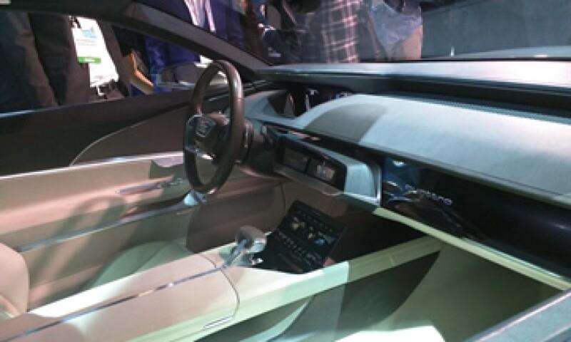 La conducción automátic modificará incluso el interior de los autos. (Foto: Reuters)
