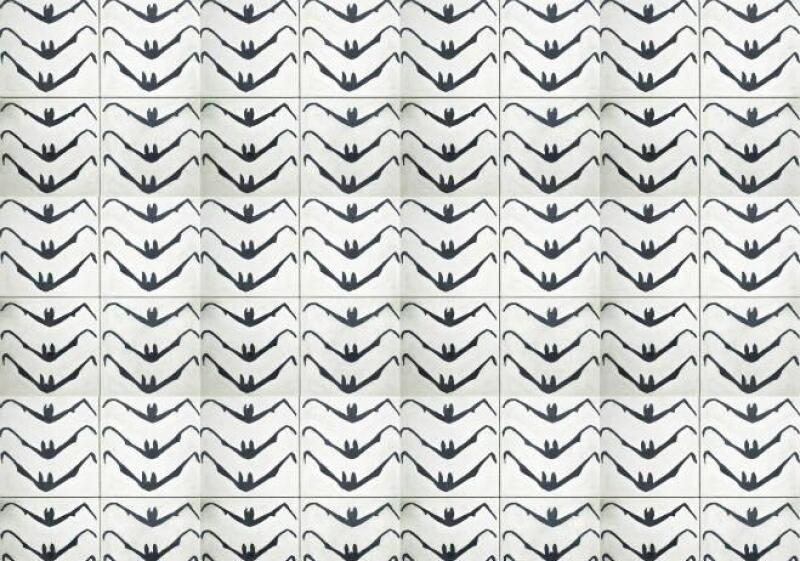 Mosaico dise�o de Francisco Toledo