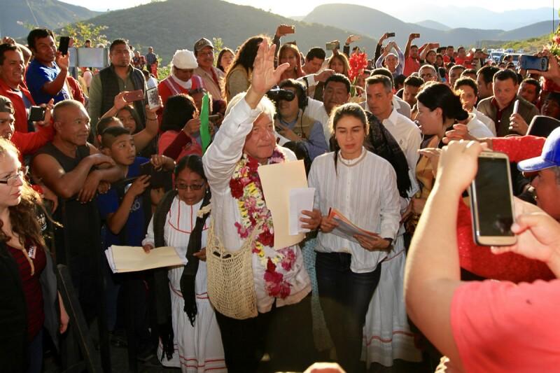 AMLO en Oaxaca
