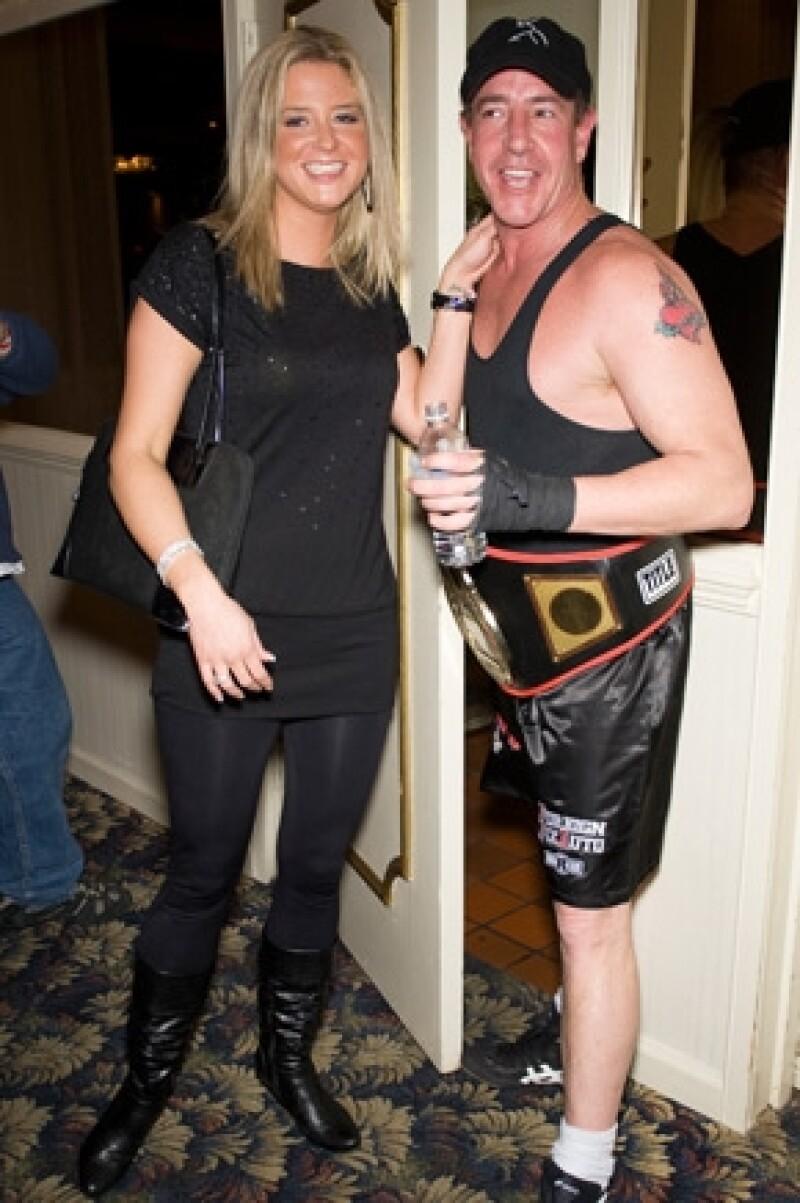 Su papá Michael Lohan y su novia Kate Major se convirtieron en padres de un niño llamado Landon Major Lohan.