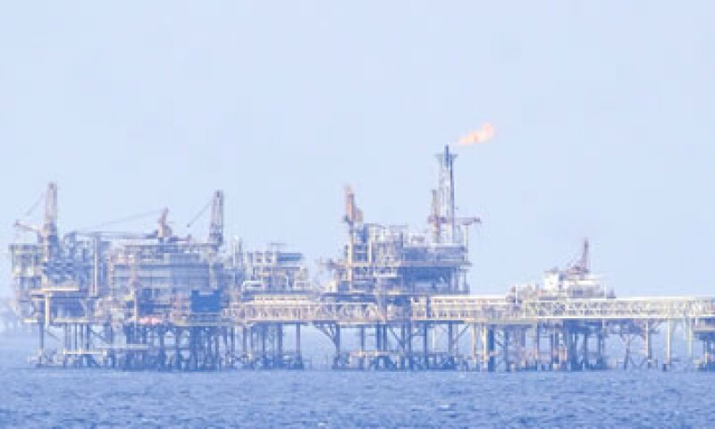 Plataformas de exploración y producción de Pemex, ubicadas en la Sonda de Campeche, en el Golfo de México  (Foto: Cuartoscuro/Archivo )
