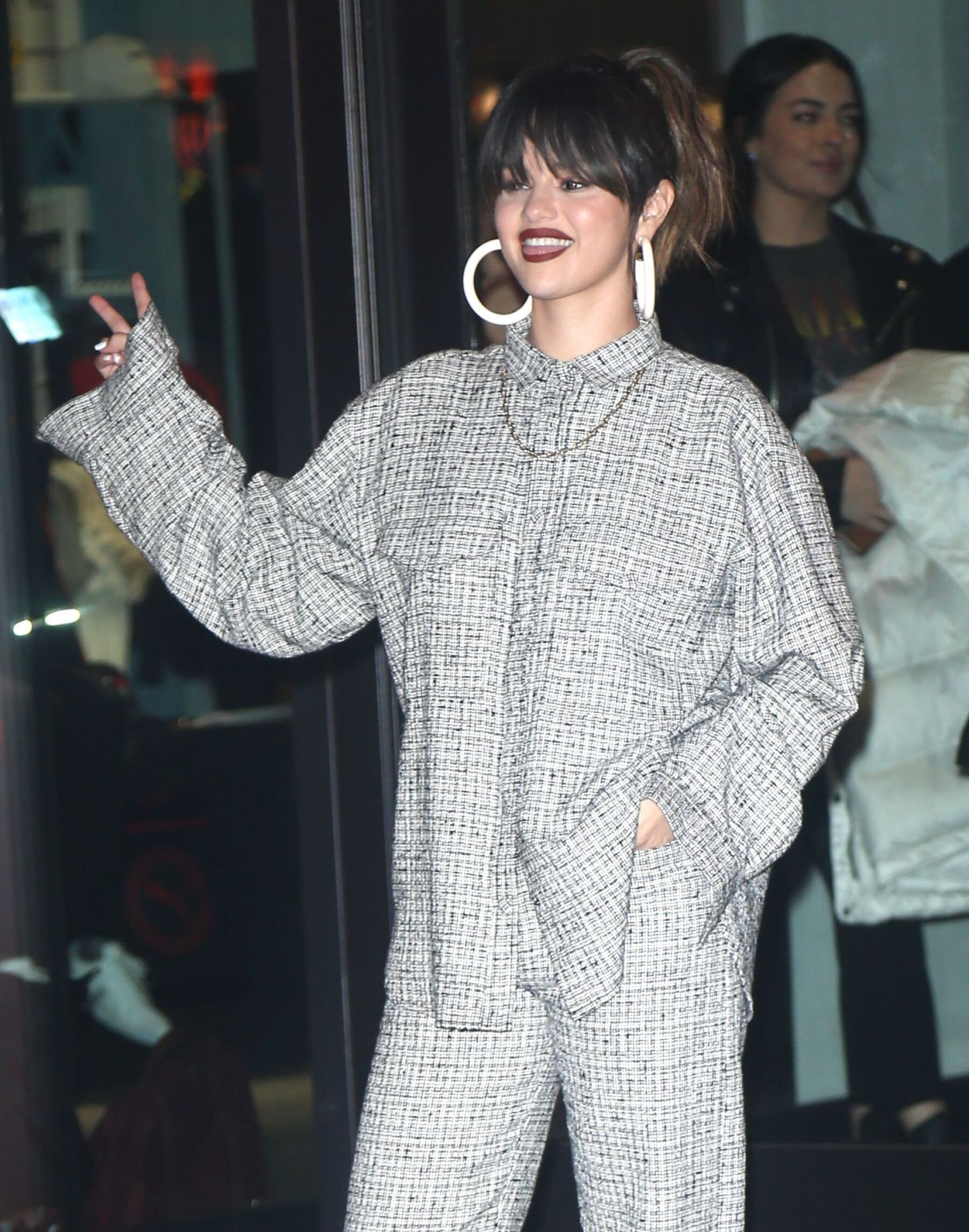 Selena Gomez out and about, New York, USA - 14 Jan 2020