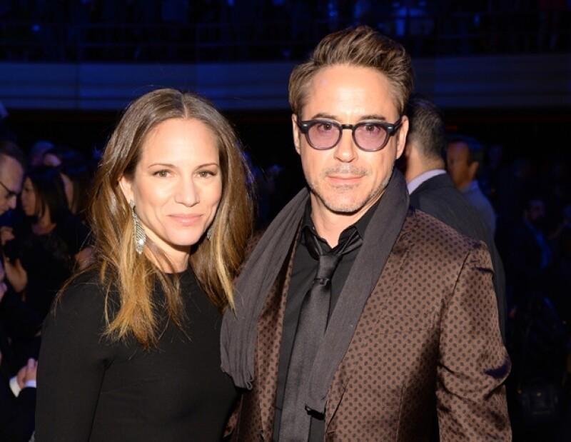Robert Downey Jr. y su esposa Susan esperan a su segundo hijo juntos.