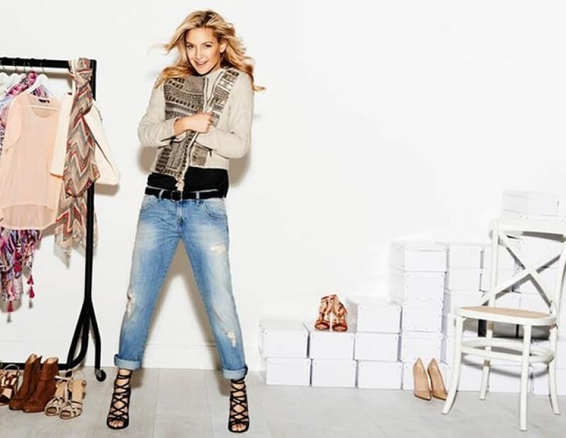La actriz de 34 años lució guapísima durante el photo shoot de la campaña publicitaria de Lindex.