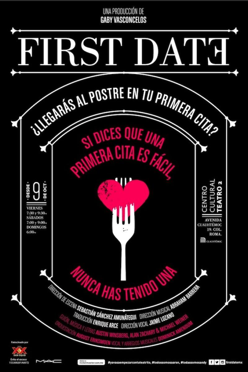 First Date se presenta en la Ciudad de México a partir del 9 de octubre.