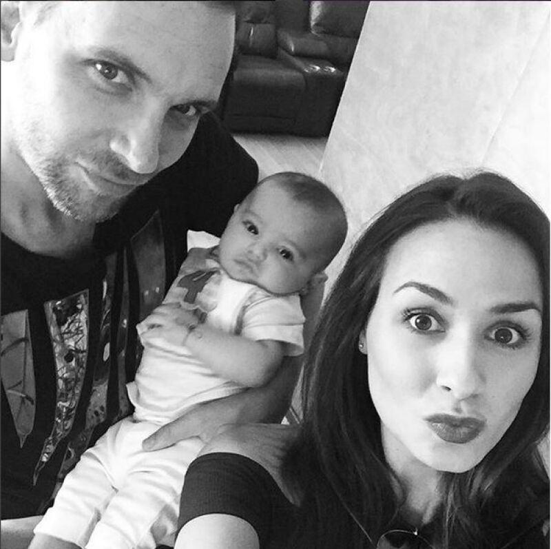 Odalys Ramírez compartió fotos junto a Gia, su bebé de cuatro meses de edad.