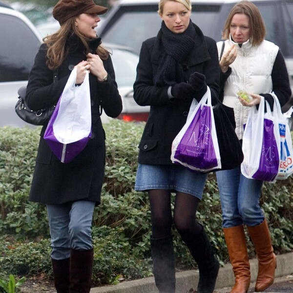 Kate Middleton out and about in London, Britain - 21 Dec 2006