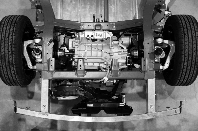 Tren motriz de vehículo desarrollado por Canoo, en EU