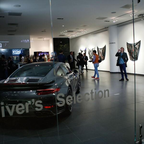 Exposición del Arq. Héctor Bitar en colaboración con Porsche