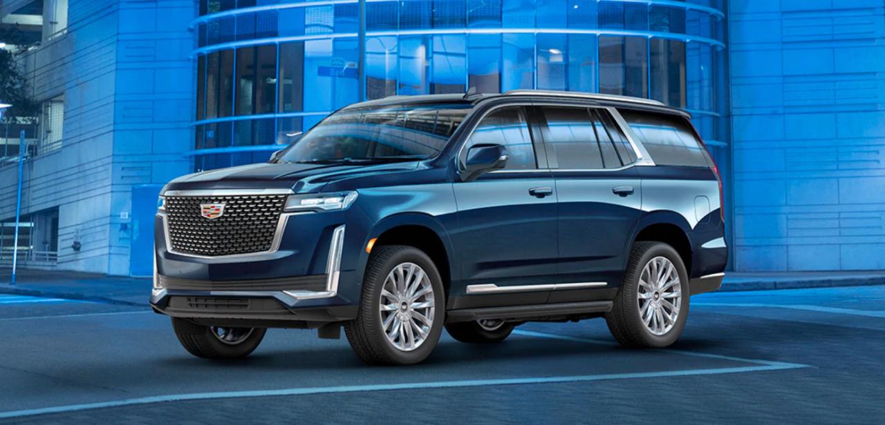 Innovación y tecnología se unen en la SUV más icónica de Cadillac