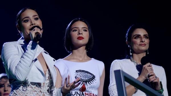 Danna Paola, Aislinn Derbez y Ángela Aguilar
