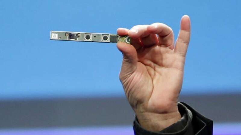 Presentacion de camara 3D de Intel