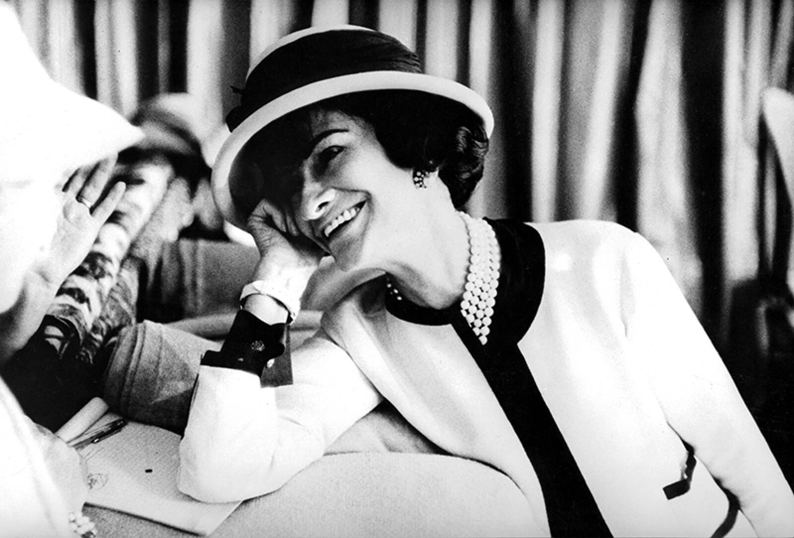 fashion designer Coco Chanel (1883-1971) , c. early 50's