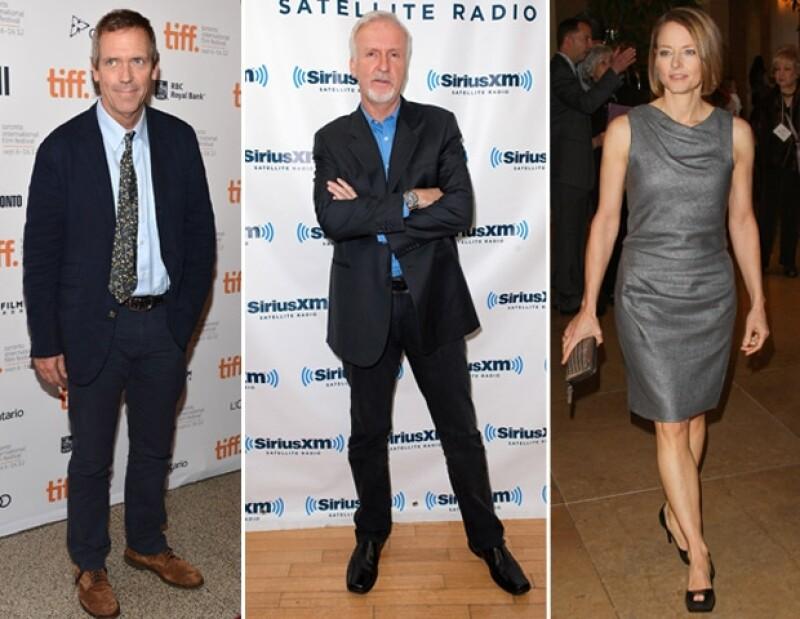 Hugh Laurie, Jodie Foster y James Cameron también han asegurado no creer en ninguna divinidad.