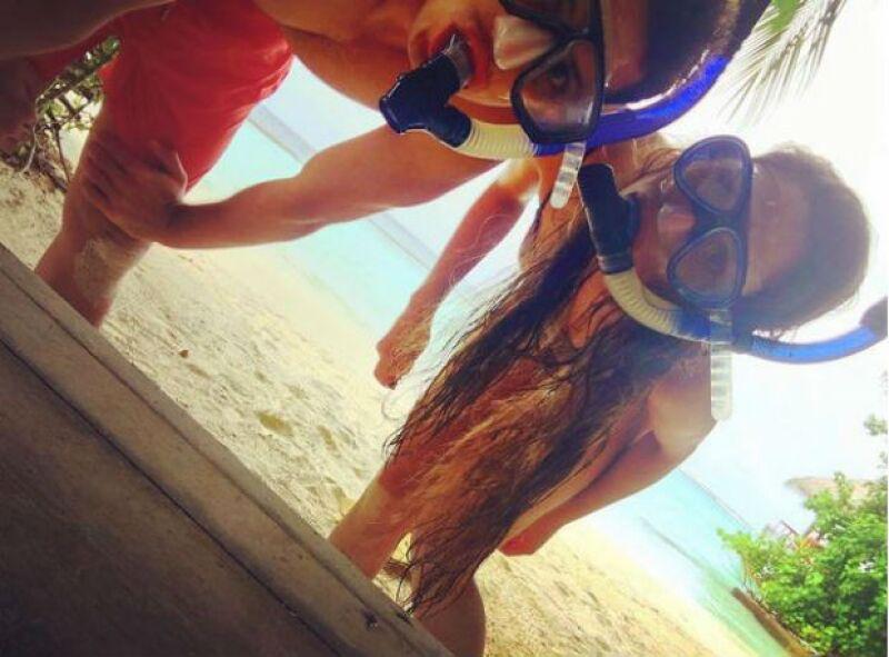 La pareja disfrutó hace unos semanas de unas inolvidables vacaciones en Maldivas.