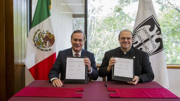Juan Pablo Castañón y Cipriano Sánchez