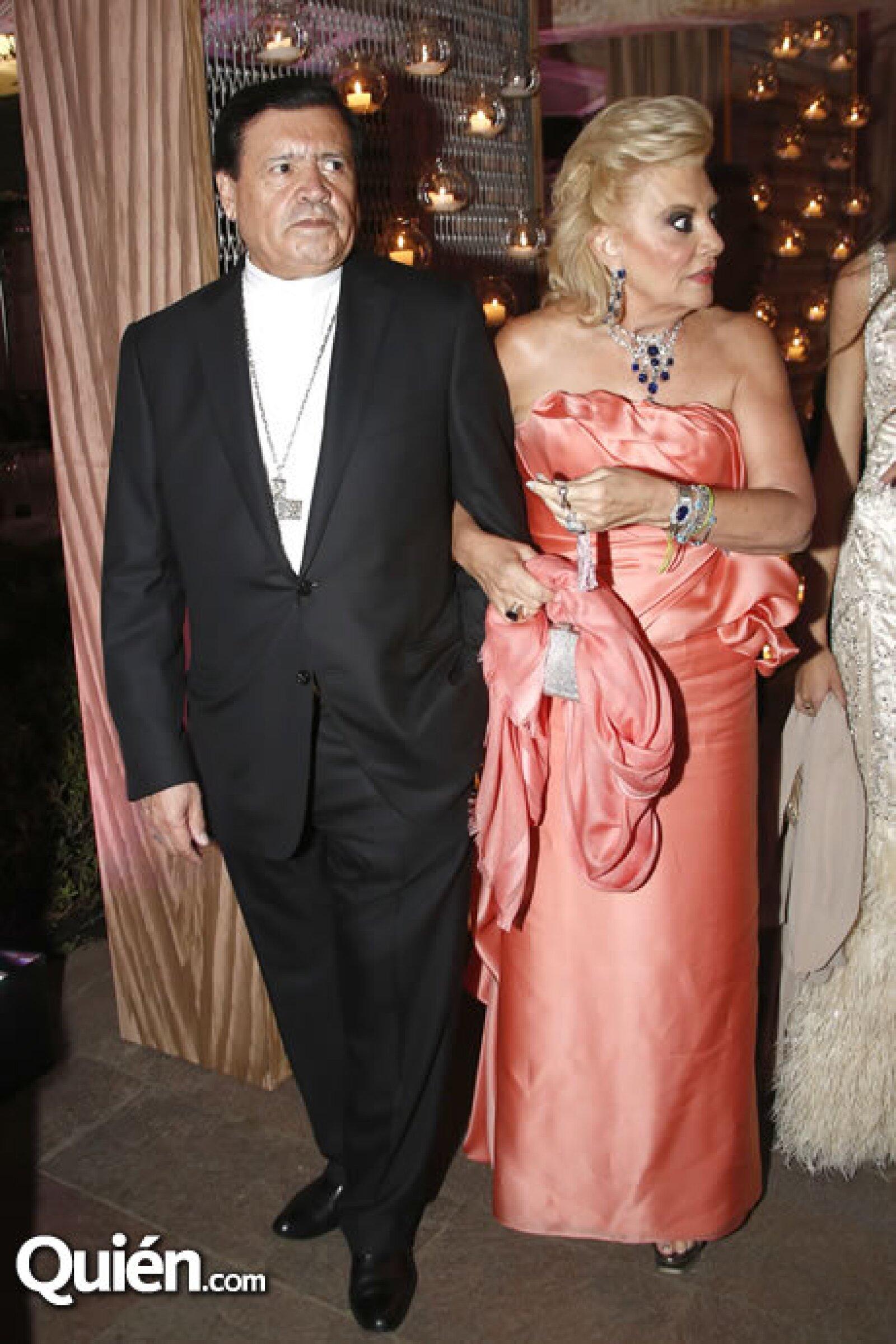 Norberto Rivera y María de los Ángeles Vázquez