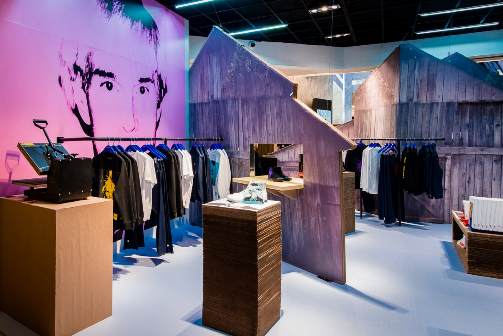 Pop-Up store Calvin Klein y Andy Warhol