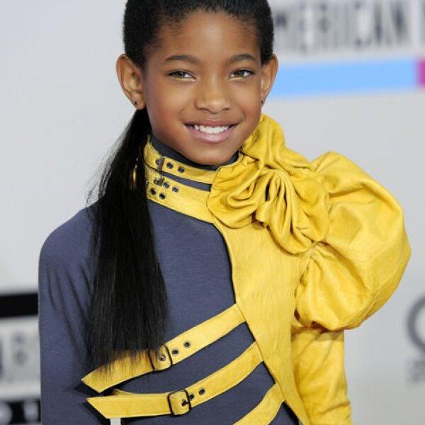Esta linda niña es hija de Will Smith, y ya se va viendo el talento que heredó de su papá. A sus 10 años, ya firmó con la disquera de Jay-Z y su primer sencillo ha tenido mucho éxito en Estados Unidos.