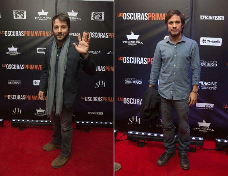 """Los actores mexicanos acudieron anoche a la alfombra roja de """"Las Oscuras Primaveras"""", donde expresaron su apoyo por el director mexicano, rumbo a la gran noche del cine."""