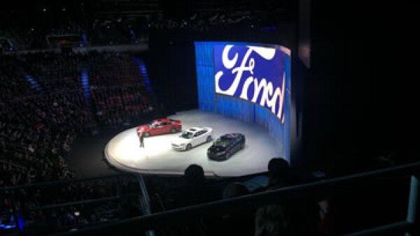 Ford presentó una nueva app, Ford Pass relacionada con pagos móviles y navegación. (Foto: Gabriela Chávez)