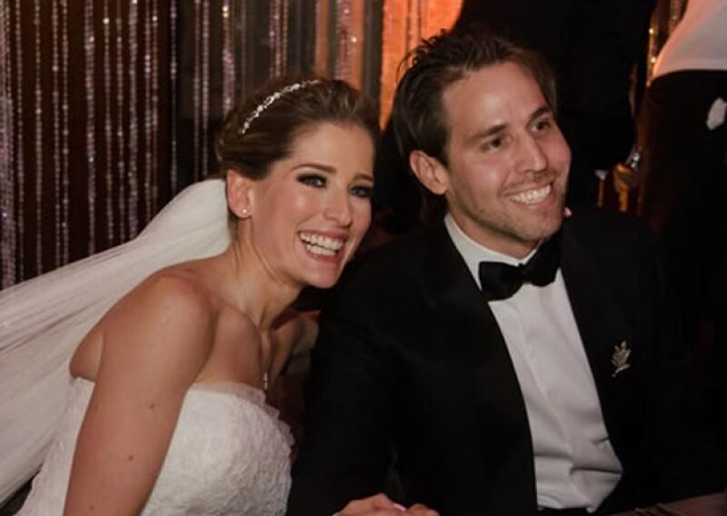 Antes de recibir al pequeño Pedro Pablo, María Inés y Gustavo tuvieron una boda espectacular.