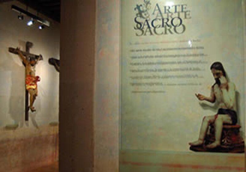 El Museo de Arte Sacro abrió sus puertas a un costado de la Parroquia de la Asunción, en el municipio de Lagos de Moreno, Jalisco.  (Foto: Cortesía Gobierno de Jalisco)