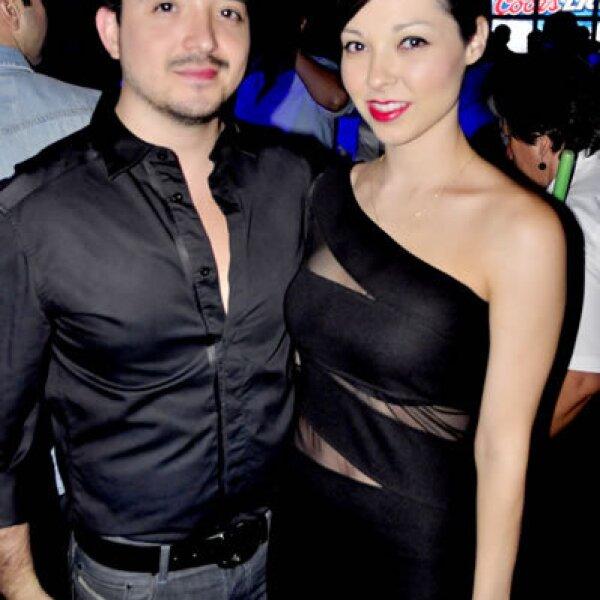 Aldo de Anda y Katya Salazar