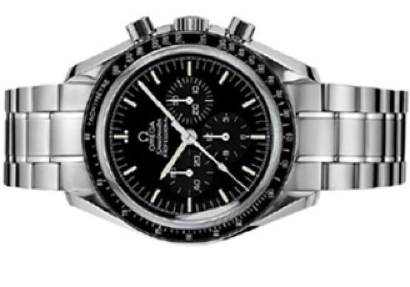 El reloj era todo de acero, carátula negra y un cristal diseñado por Omega. (Foto: Cortesía Omega)